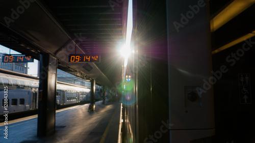 Fotografía Train station in Milan - Italy