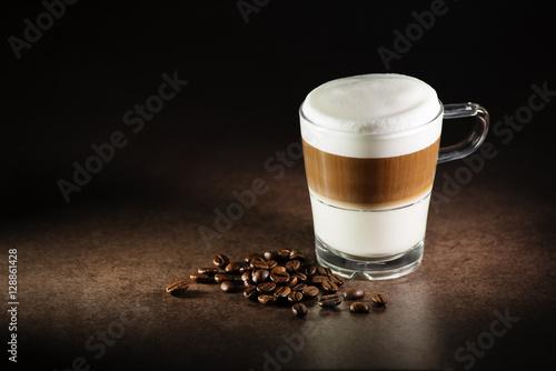 Fotografie, Obraz  Latte macchiato coffee