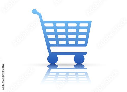 Fotografia, Obraz  icona, carrello, acquisti, commercio, compere
