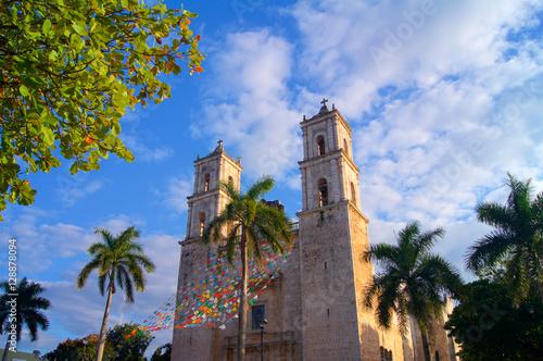 Valladolid church colonial Mexico