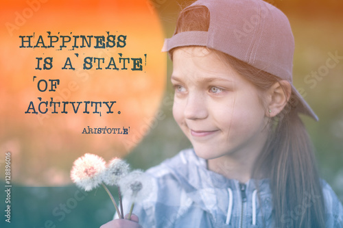 happiness quote Aristotle