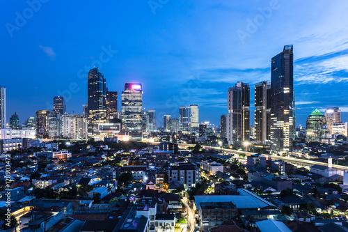 Fotografía  The nights of Jakarta, Indonesia capital city