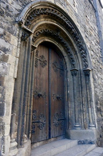 Christ Church Cathedral Door Poster