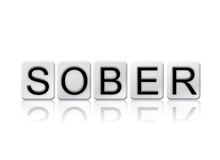 Sober Isolated Tiled Letters C...