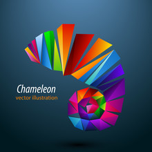 Chameleon From Color Triangles...