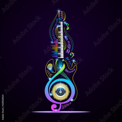 musical-instruments-collage-for-rock-jazz-blues-lounge-electronic-live