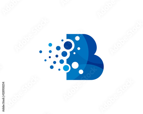 Dot Pixel Letter B Initial Logo Design Template Buy This Stock Vector And Explore Similar Vectors At Adobe Stock Adobe Stock
