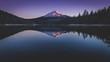 canvas print picture - Mirror lake
