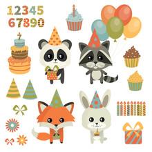 Children's Birthday Party. Cut...