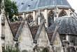 Paris- Das Musee National du Moyen-Age-Thermes de Cluny. Das Museum verfügt über eine der reichsten mittelalterlichen Sammlungen der Welt