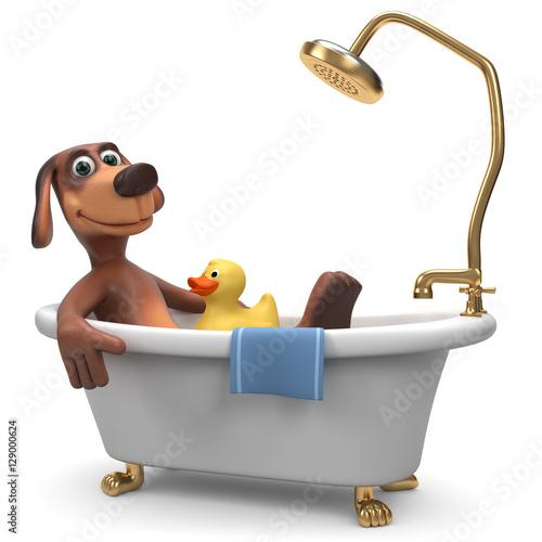 bilder badewanne comic