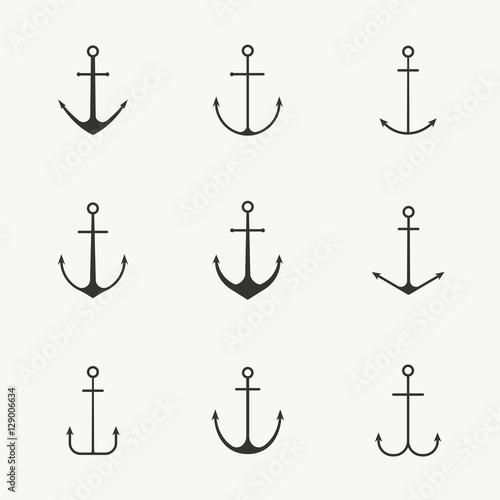 Cuadros en Lienzo Anchor set