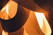 Lampshade Made Of Wood Veneer