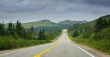 Newfoundland Highway In Overca...