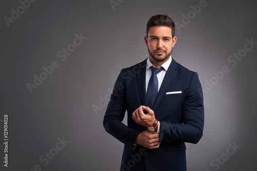 Fotografia  Confident elegant young man