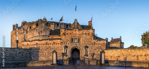 Poster Kasteel Edinburgh Castle front gate