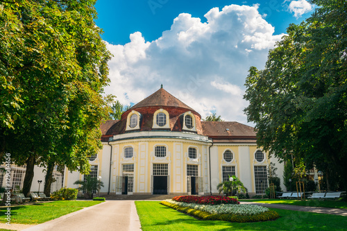 Concert rotunda in the park of Bad Reichenhall, Germany - 129034656