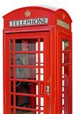Fototapeta Londyn - London Phone Box.
