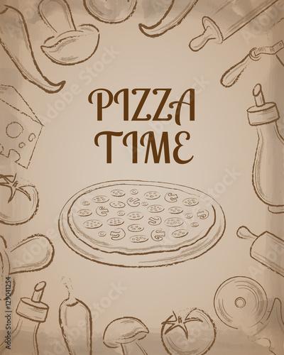 pizza-kawiarnia-menu-szablon-strony-z-brazowym-recznie-rysowane-ingrid