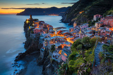 Village Of Vernazza. Image Of ...