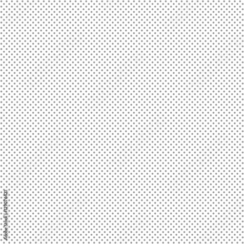 Cotton fabric Seamless dotted background - gray
