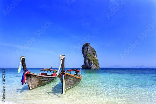 Tropical beach, Andaman Sea, Thailand Wallpaper Mural