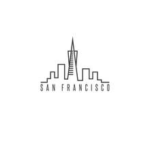 San Francisco Skyline Vector D...