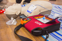 Cpr With Aed Training And Blur...