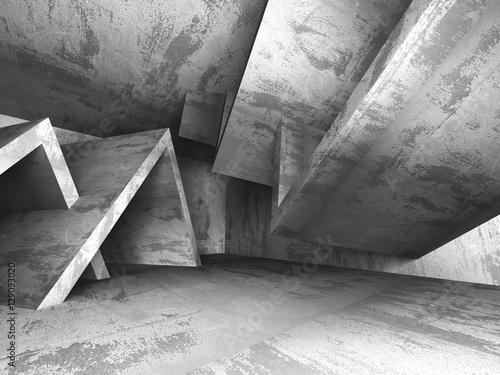 ciemny-pusty-miejskiego-betonu-pokoju-miastowy-wnetrze