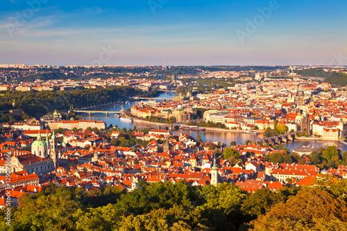 Plakat Panorama z Pragi, Republika Czeska
