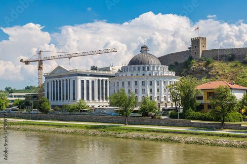 Keuken foto achterwand Noord Europa Medieval Fortress Kale in Skopje