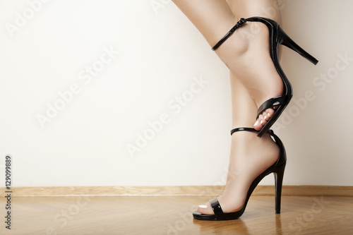 Fotografia  black high heels