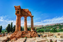 Agrigento, Sicily. Temple Of C...