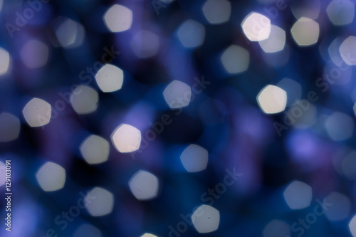 Fototapety, obrazy: Colorful lights on red background. holiday bokeh. Abstract Christmas