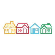 House Line Icon Image Vector Illustration Design
