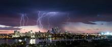 Stunning Multiple Lightning St...