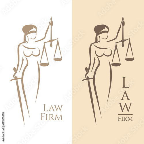 Plakát  lady justice