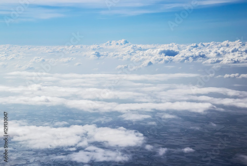 Poster Aurore polaire On the cloud in the sky softly focus