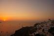 santorini oia sunset