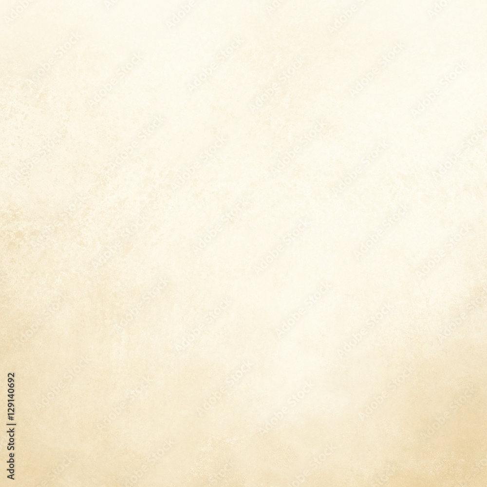 plain white background with yellowed vintage texture