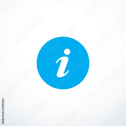 Fotografía  Vector information icon