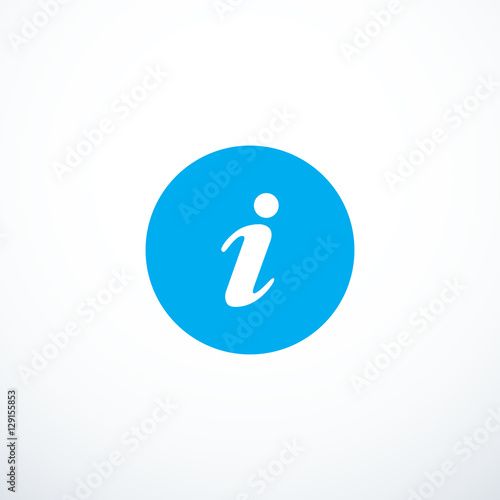 Fotografie, Obraz  Vector information icon