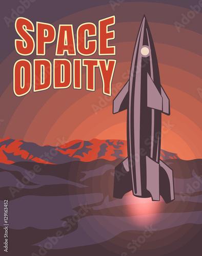 Fotografia, Obraz  Space oddity