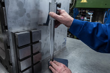 Measurements Of A Steel Plate ...