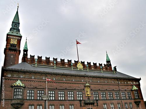 Photo  Exquisite architecture of the beautiful Danish capital city of Copenhagen