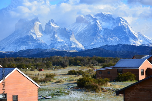 Photo Stands Europa Landscape in Patagonia Chile