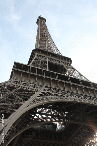 Beautiful unique city of Paris in France #129177247