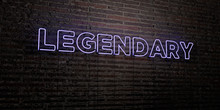 LEGENDARY -Realistic Neon Sign...
