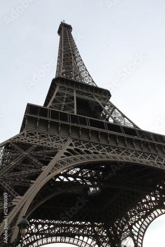 Beautiful unique city of Paris in France #129180089