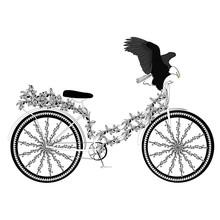 Fantasy Abstract Bicycle
